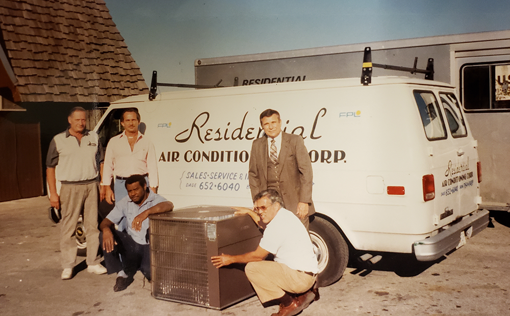 Throwback Photo from Residential Air in 1970s